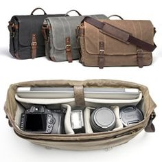 Ona Bags The Union Street - camera and laptop messenger bag