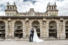 Summer Blenheim Palace Wedding Photo