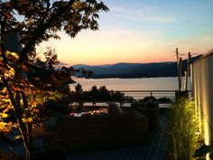 Abendstimmung auf einem Dachgarten am Wörthersee Klagenfurt, Celestial, Sunset, Outdoor, Roof Terraces, Water Pond, Vacation, Lawn And Garden, Outdoors