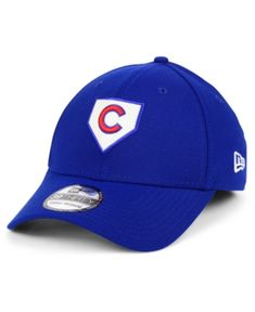 f835043ba3a New Era Chicago Cubs The Plate 39THIRTY Cap   Reviews - Sports Fan Shop By  Lids - Men - Macy s