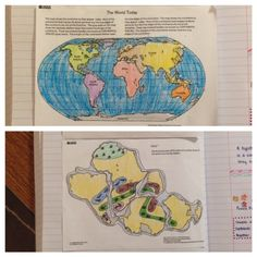 great continental drift lesson from USGS