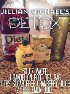 The famous Jillian Michael's Detox recipe! The famous Jillian Michael's Detox recipe! Best Smoothie, Smoothies, Smoothie Detox, Detox Cleanse For Weight Loss, Quick Weight Loss Diet, Healthy Weight, Cleanse Detox, Diet Detox, Stomach Cleanse