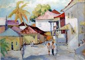The Artists of Caribbean art gallery, Gallery St. Thomas