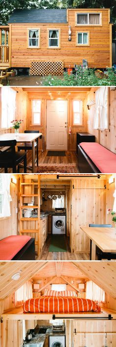 Portland cabin with just 255 sq ft of space
