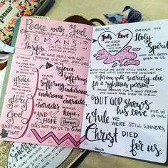 Day complete Peace with God through faith! by christinasalive Sermon Notes, Bible Notes, Bible Verses Quotes, Bible Scriptures, Bible Study Journal, Scripture Journal, Bible Mapping, Bible College, Bible Lessons