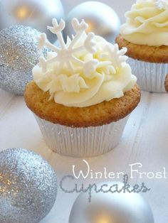Raquel's Kitchen - english version-: Winter Frost Cupcakes