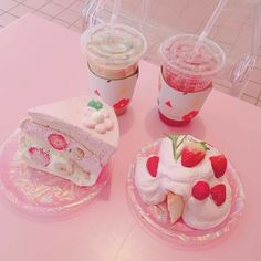 The monthly Japanese candy & snacks subscription box filled with exclusive and limited edition treats! Dessert Kawaii, Dessert Food, Cute Food, Yummy Food, Kreative Desserts, Tout Rose, Eat This, Pink Foods, Milk Shakes