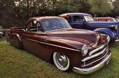 1950 Chevy custom utility was built by Joshua Jardine