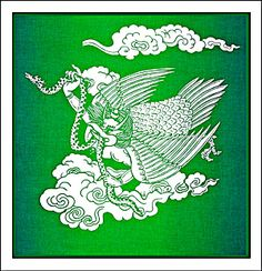The Garuda | Prayer Flags - sleeve?