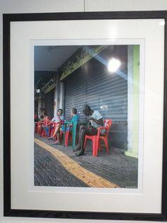 Ailleurs à la Galerie De l'art ou du cochon Joâo Mendes Rio de Janeiro Mendes, Galerie D'art, Baseball Cards, Sports, Rio De Janeiro, Contemporary Art, Hs Sports, Sport