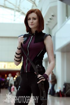 Share My Cosplay, #cosplayer Lisa Marie in her Lady Hawkeye...