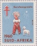X'mas stamp @south africa
