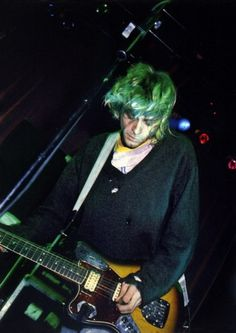 """ *New photo of Kurt Cobain from Kilburn National Ballroom, London / 1991 """