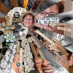 Ideas de Scrapbooking para la narración visual con el estilo de lista / Collages Historia    Ronnie Crowley    Get It desguazado