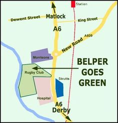 Transition Belper - part of the Transition Network. The latest news for the Belper Goes Green ECO Festival Rugby Club, Morrisons, Go Green