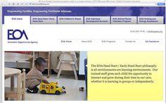 A nonprofit's website