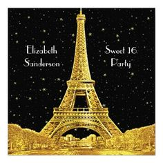 >>>Best          Gold Paris France Skyline #2 Bk Starry Sweet 16 SQ Announcements           Gold Paris France Skyline #2 Bk Starry Sweet 16 SQ Announcements This site is will advise you where to buyHow to          Gold Paris France Skyline #2 Bk Starry Sweet 16 SQ Announcements lowest price...Cleck Hot Deals >>> http://www.zazzle.com/gold_paris_france_skyline_2_bk_starry_sweet_16_sq_invitation-161437682359312807?rf=238627982471231924&zbar=1&tc=terrest