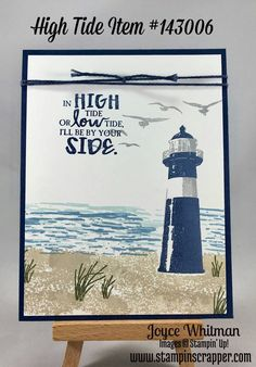 Stampin' Up!, Masculine, High Tide