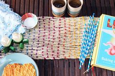 How to Weave a Rope Table Runner | by Lauren Weems of Brit + Co.