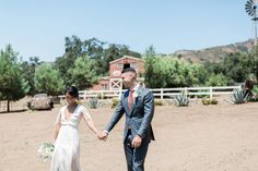 Wedding venue - Condor's Nest Ranch.  Wedding photography by www.leahvis.com
