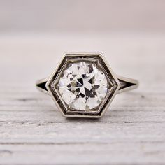 1.75 Carat Old European Cut Diamond Engagement Ring (Circa 1935) by Raymond C. Yard  $20000.00 ~ Someone just kill me now...sigh.