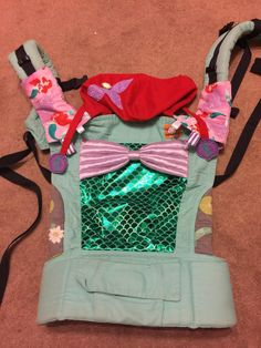 Ariel (Customized by BLISS & BOWS) Tula Baby Carrier