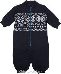 Tiny Minymo Heldragt - Marineblå m. Hvid - Børnetøj. Børnetøj med fri fragt.