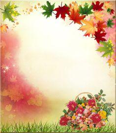 multicolores,papier,papers Wallpaper Keren, Fall Wallpaper, Borders For Paper, Borders And Frames, Foto Frame, Frame Border Design, Social Media Art, Minnie Png, Autumn Crafts