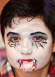 die 8 besten bilder von vampir schminken kinder makeup. Black Bedroom Furniture Sets. Home Design Ideas
