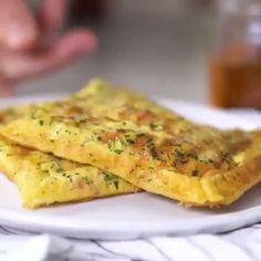 Plant Based, Salads, Dinner Recipes, Yummy Food, Easy Omelette Recipe, How To Make Omelette, Rice, Breakfast, Food