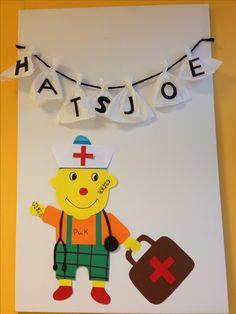 Hatsjoe - hatsjoe zakdoeken en dokter puk Education, Logos, Crafts, Art, Art Background, Manualidades, Logo, Kunst, Handmade Crafts