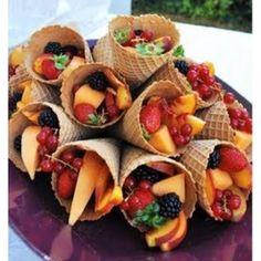 Fun take on fruit cups!