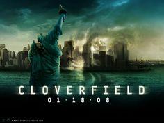 """Película """"Cloverfield"""" - proporción de la caja: ancha"""