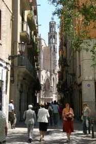 Santa Maria Del Mar Church in El Born (churches, cafes, etc.- near Cathedral)