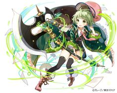 アプリゲーム「東京マテリア」にて描かせていただきました。 http://grapeinc.co.jp/service.html