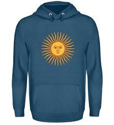 Argentinien SONNE T-Shirt Unisex, Hoodies, Sweatshirts, Sweaters, Fashion, Argentina, Sun, Cotton, Breien