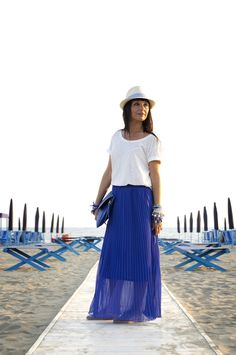 Smilingischic outfit navy style all shades of the sea