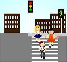 How to Teach Children Basic Street Safety when Walking. Every parent knows that streets and street crossings pose a threat to the safety of their children. Children don't have the ability to judge distance and speed as well as adults do. Teaching Safety, Teaching Time, School Safety, Kids Safety, Summer Safety, First Year Teachers, Lessons For Kids, Kids Health, Pedestrian