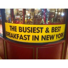 Best breakfast and right in front of Grand Central Station NY