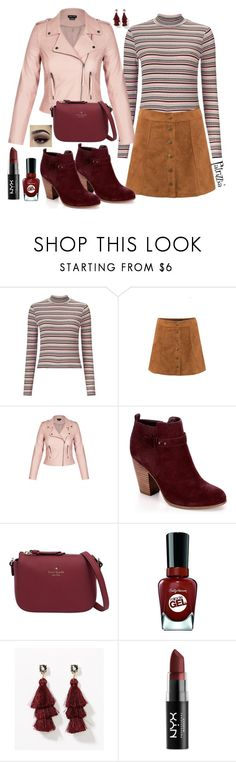 Patrizzia07.01.2018a by patrizzia on Polyvore featuring moda, Miss Selfridge, Kate Spade, LOFT, NYX, Sally Hansen and patrizziapolyvore