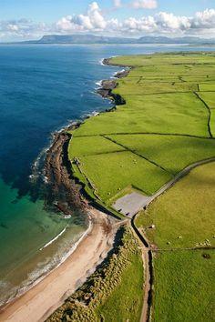 Dunmoran Beach Near Sligo, Ireland
