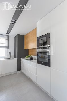 Selecting The Ideal Design For Your Kitchen Narrow Kitchen, Kitchen Dinning, New Kitchen, Kitchen Decor, Modern Kitchen Design, Modern House Design, Small Modern Kitchens, Kitchen Furniture, Kitchen Interior