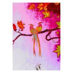 Anna Chandler Canvas - Lovebirds