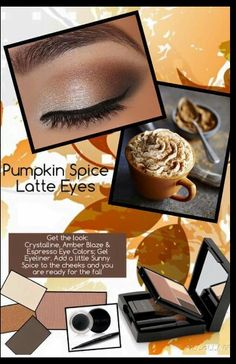 PUMPKIN SPICE Latte Eyes~ A FALL MUST TRY LOOK. www.marykay.com/rlewis15 or call/text 256-452-8948