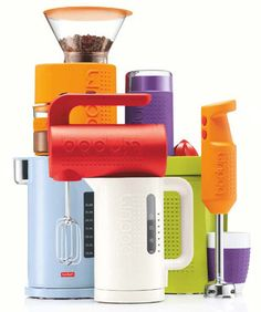 I love this practical and playful Bodum product line!