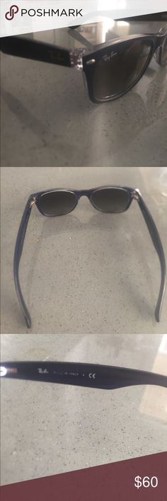 Authentic Ray-ban sunglasses Awesome pair of blue Ray-Ban wayfarer sunglasses.  RB2132 made in Italy. Ray-Ban Other