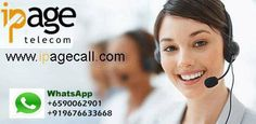 An opportunity for businesses and individuals around the world to start their own businesses in telecom industry without taking financial, marketing and other risks. IPage Telecom's Wholesale Agents don't have to invest heavily in equipment, software and technology. Login to our website: http://www.ipagecall.com  **Contact us for your required VoIP services at our 24x7 support **