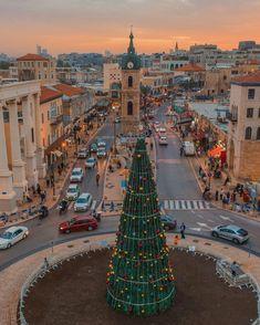 Christmas in Jaffa, Israel - 2020 Old Jaffa, Visit Israel, Joy To The World, Tel Aviv, Paris Skyline, Around The Worlds, Tower, Street View, Earth