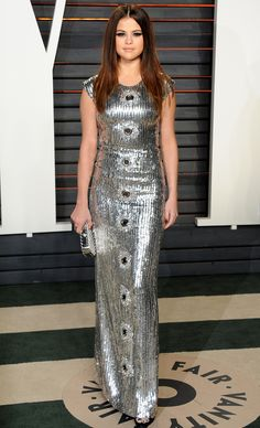 Oscars 2016: All the Dresses You Didn't See | People - Selena Gomez in Louis Vuitton