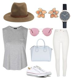 """Sunny Day"" by purplehoneybeefashion ❤ liked on Polyvore featuring rag & bone, River Island, Topshop, Converse, Givenchy and Oliver Peoples"